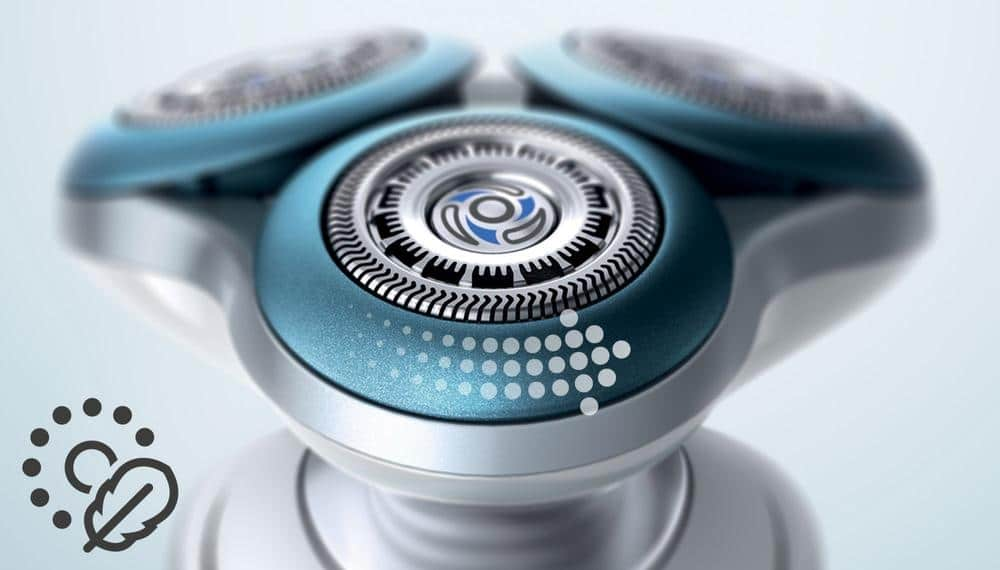 Protection de la peau rasoir électrique