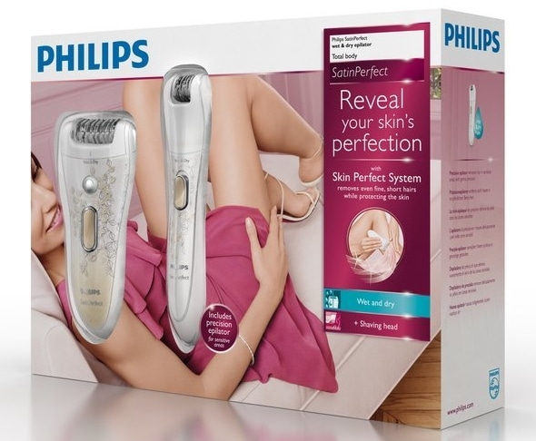 Test du Philips HP6581/00 SatinPerfect XL Wet&Dry