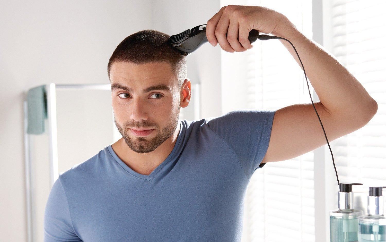 Appareil pour se couper les cheveux seule