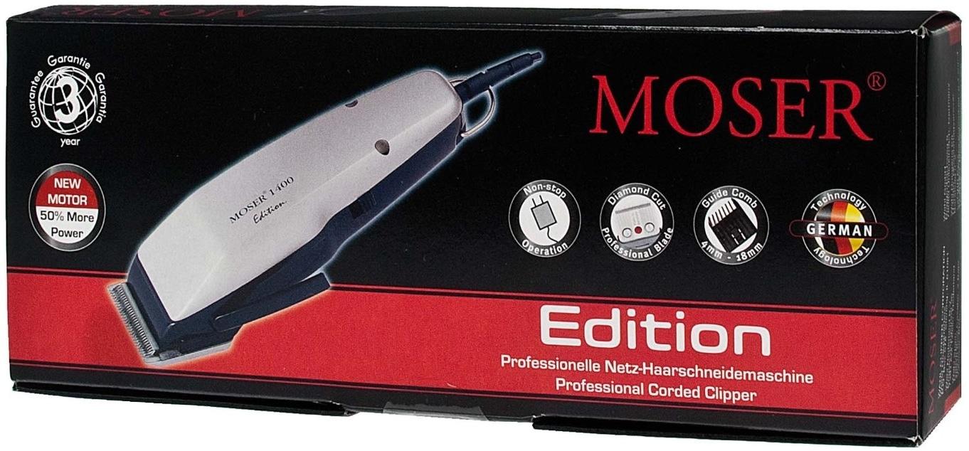 Test de la tondeuse à cheveux Moser 1400 Edition