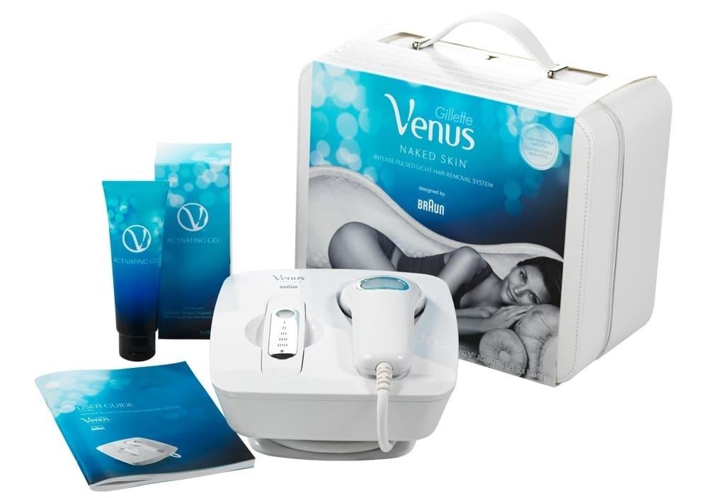 Avis sur l'épilateur à lumière pulsée Braun Gillette Venus Naked Skin