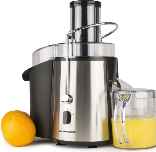 Extracteur de jus Andrew James 850W Whole Fruit Power