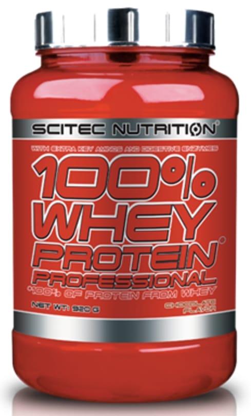 Whey protéine 100% Whey Professional de Scitec Nutrition