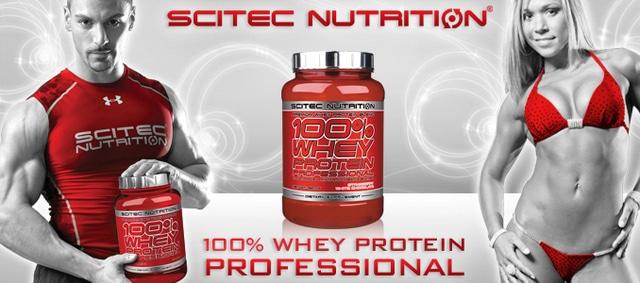 Avis sur la whey protéine 100% Whey Professional de Scitec Nutrition