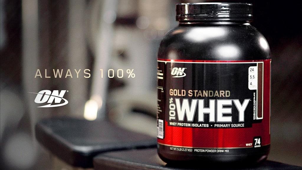 Avis sur la whey protéine Whey Gold Standard de Optimum Nutrition