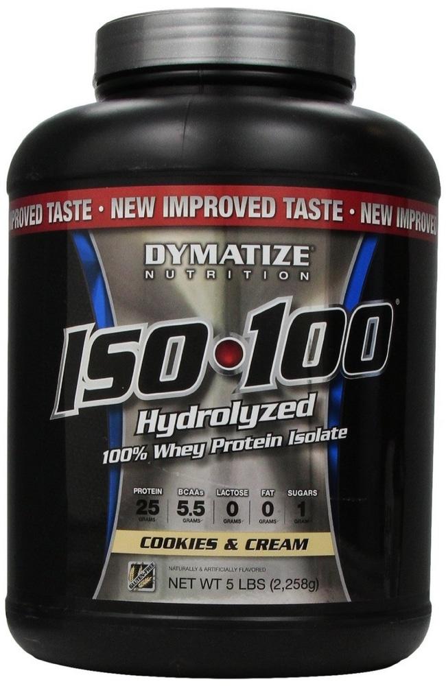 Whey protéine Iso 100 Hydrolyzed de Dymatize