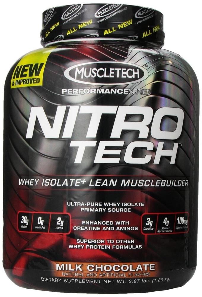 Whey protéine Nitro-Tech de Muscletech