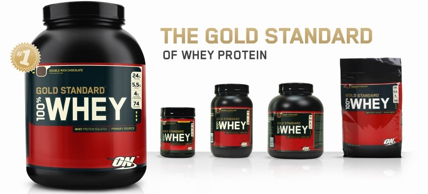 Test de la whey Gold Standard de Optimum Nutrition