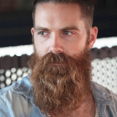 Barbe sauvage ou de ZZ Top