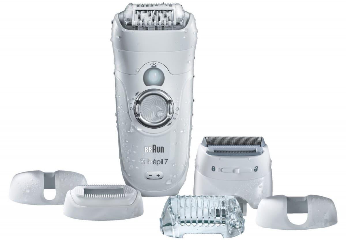 Épilateur électrique Braun Silk-Épil 7 Wet&Dry 7-561