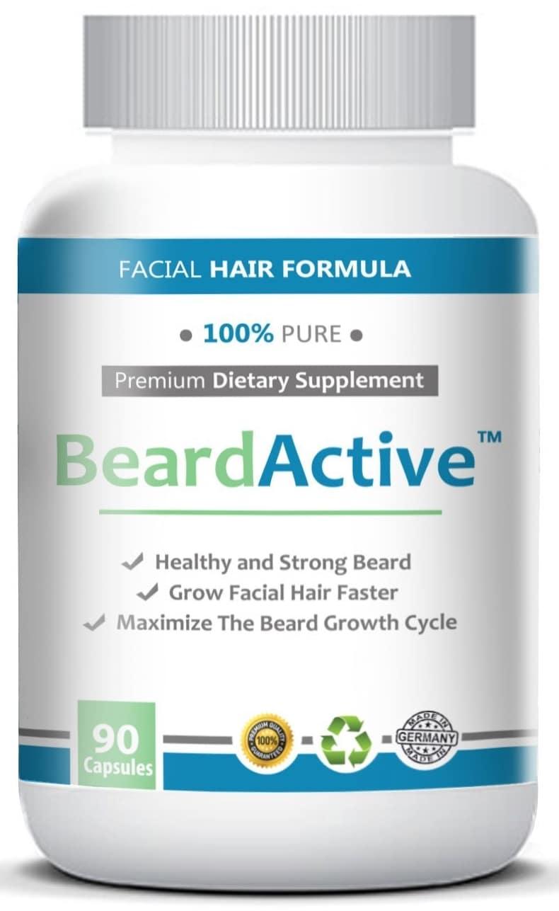 Beard Active pour faire pousser la barbe
