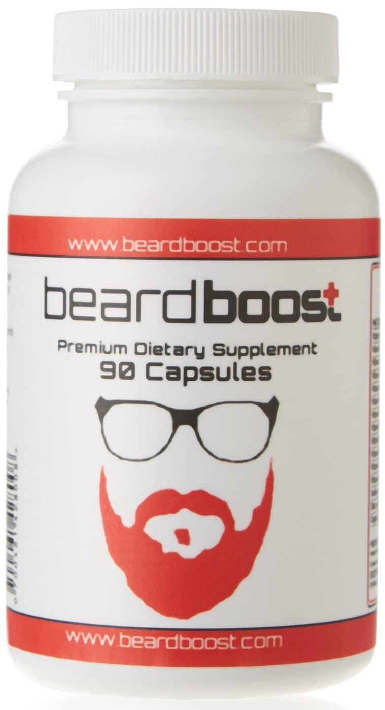 Beard Boost pour faire pousser la barbe