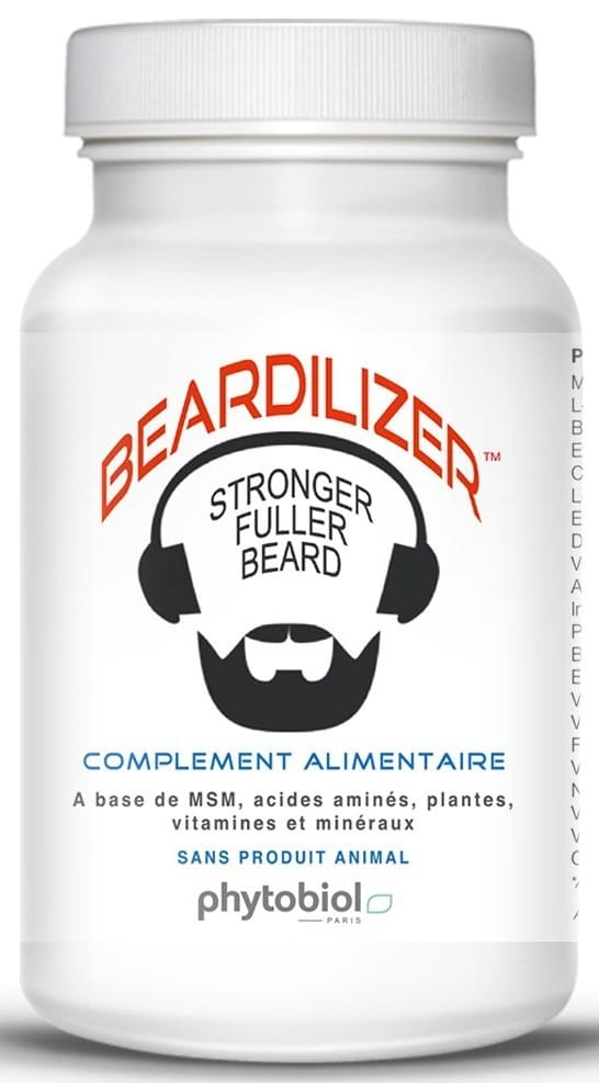 Beardilizer pour faire pousser la barbe