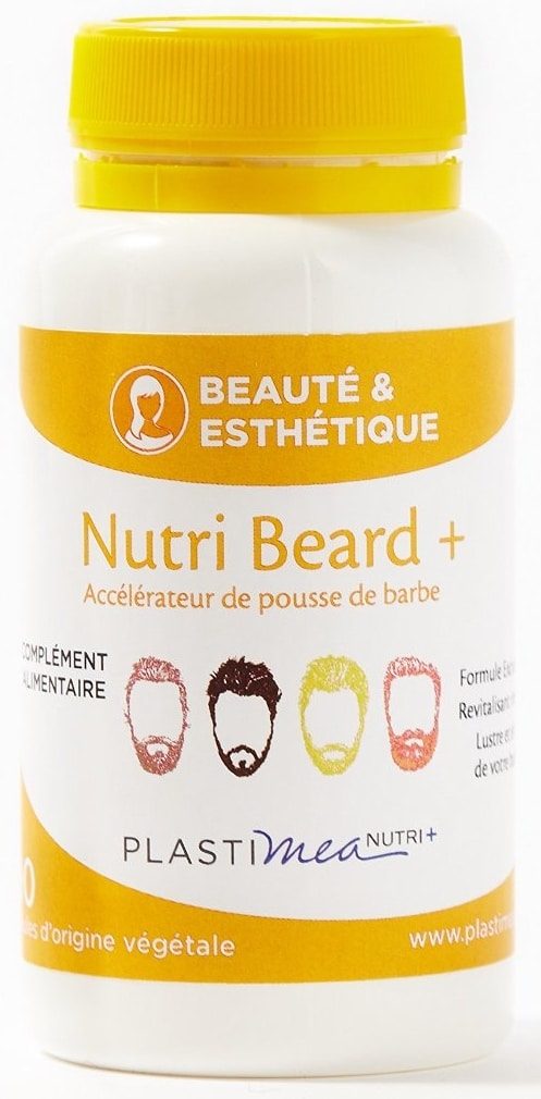 Nutri Beard + pour faire pousser la barbe