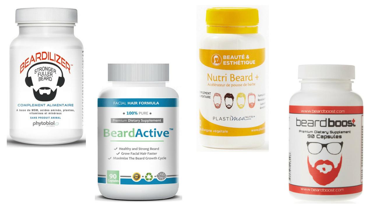 Produits pour faire pousser la barbe