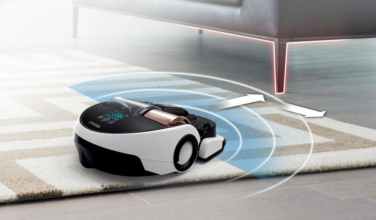 Détection obstacles aspirateur robot