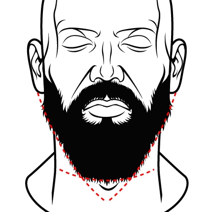 Tailler barbe longueur