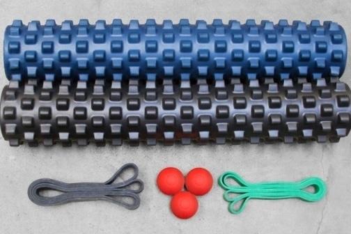 Accessoire CrossFit rouleau de massage élastiques