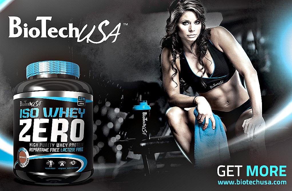 Avis sur la whey protéine Iso Whey Zero de Biotech USA