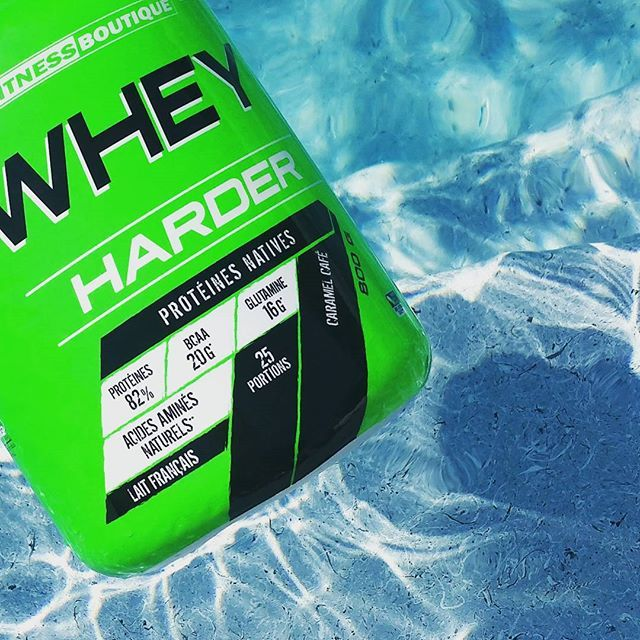 Avis sur la whey protéine Whey Harder de FitnessBoutique