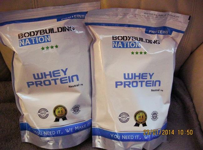 Avis sur la whey protéine Whey Protein de Bodybuilding Nation