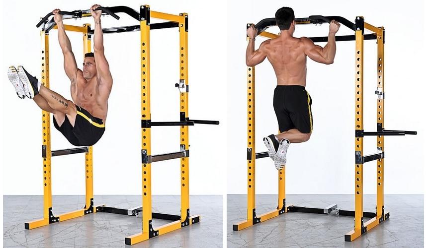 Cage à squat stabilité