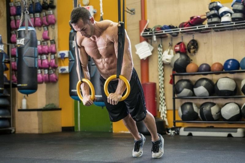 Anneaux de gymnastique CrossFit