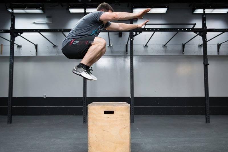 Jump box CrossFit