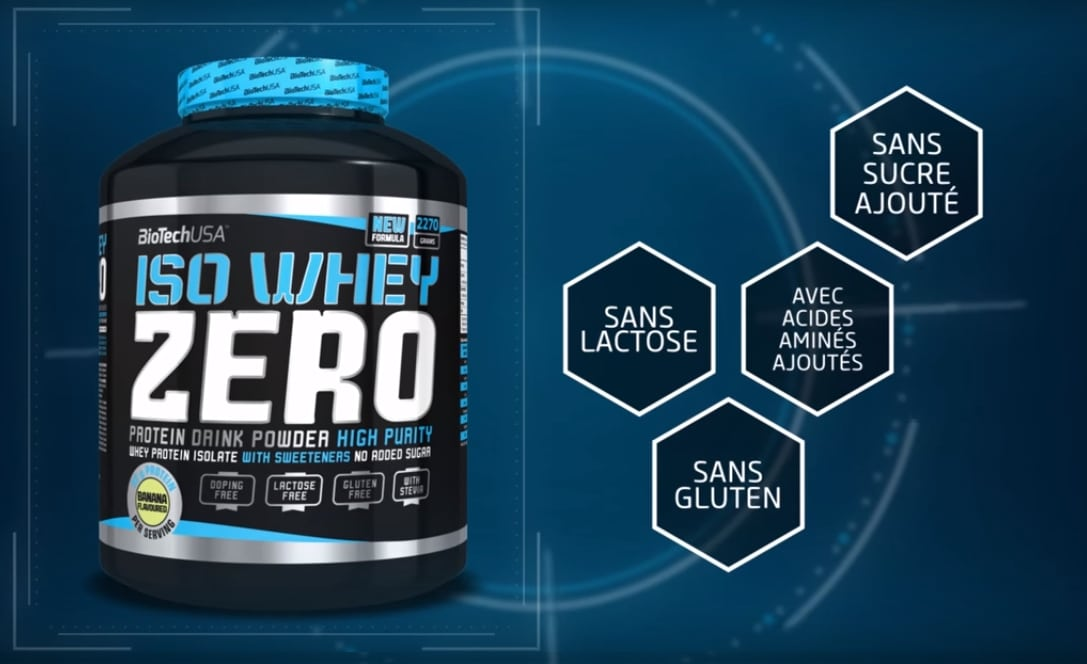 Test de la Iso Whey Zero de Biotech USA
