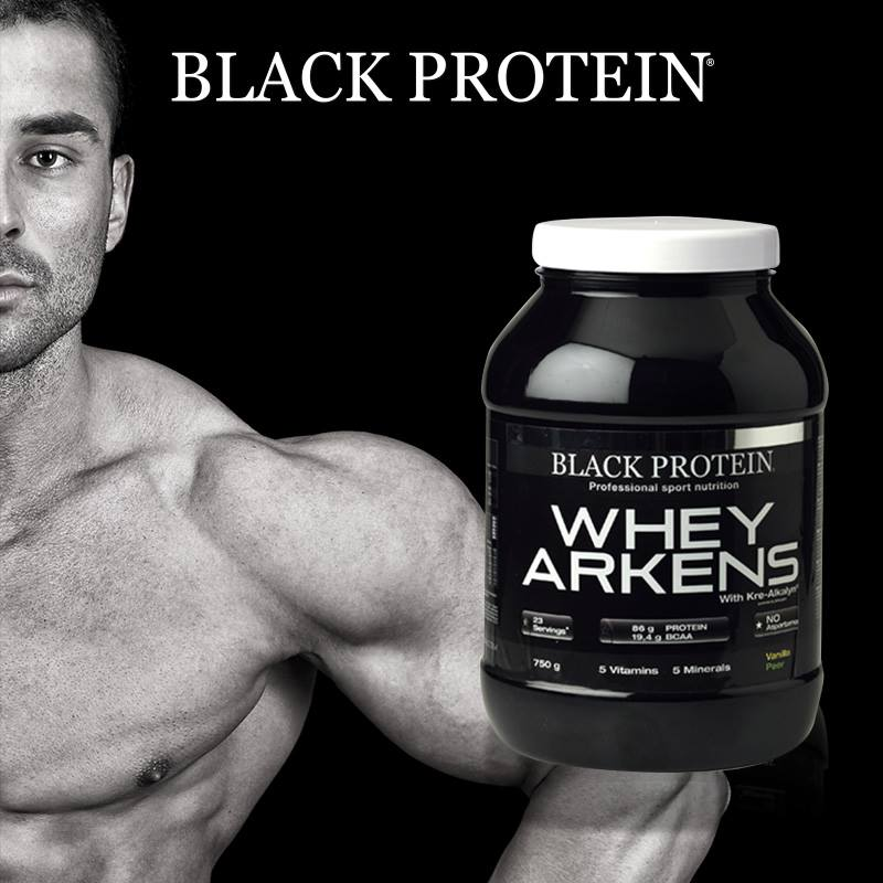 Test de la Whey Arkens de Black Protein