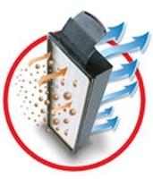 Aspirateur dorsal filtration