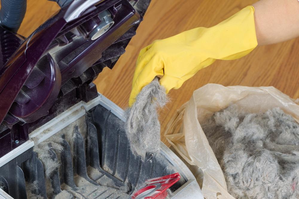 Nettoyer le sac de son aspirateur