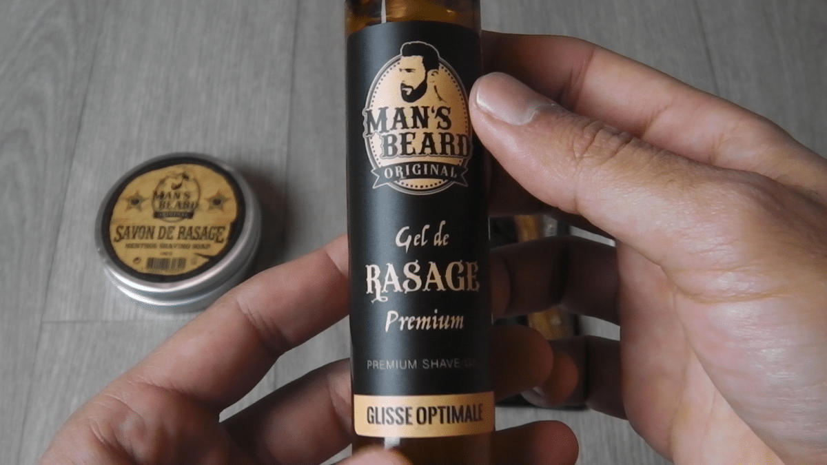 Gel de rasage Man's Beard