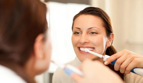 Brosse à dents électrique modes
