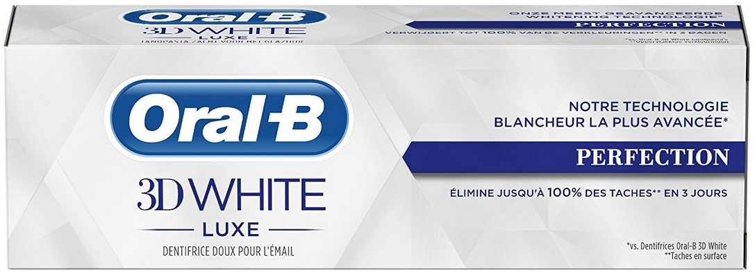 Dentifrice Oral B 3D White