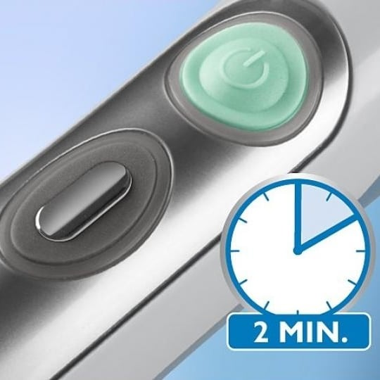 Comment bien utiliser sa brosse à dents électrique timer