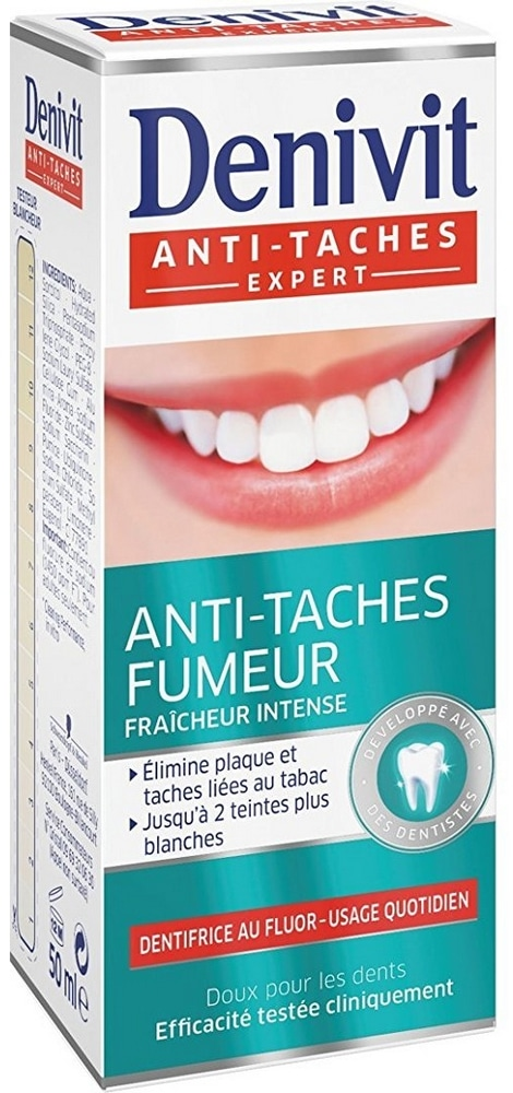 Dentifrice Denivit Anti-Taches