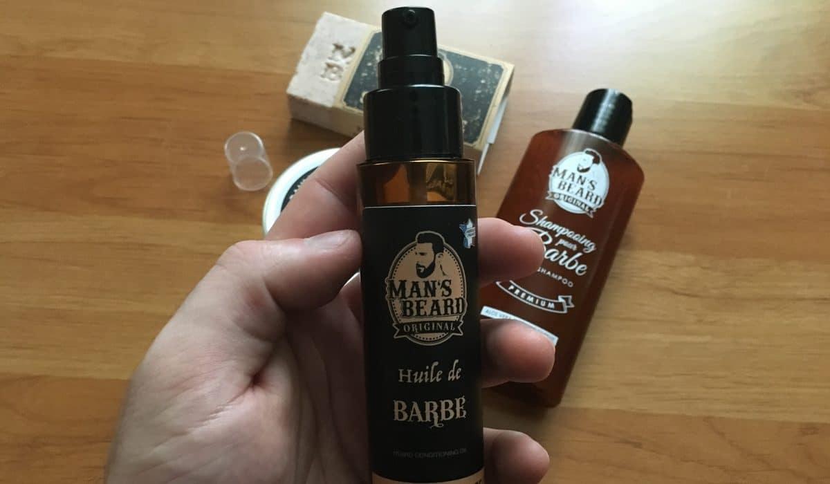 Huile de barbe Man's Beard