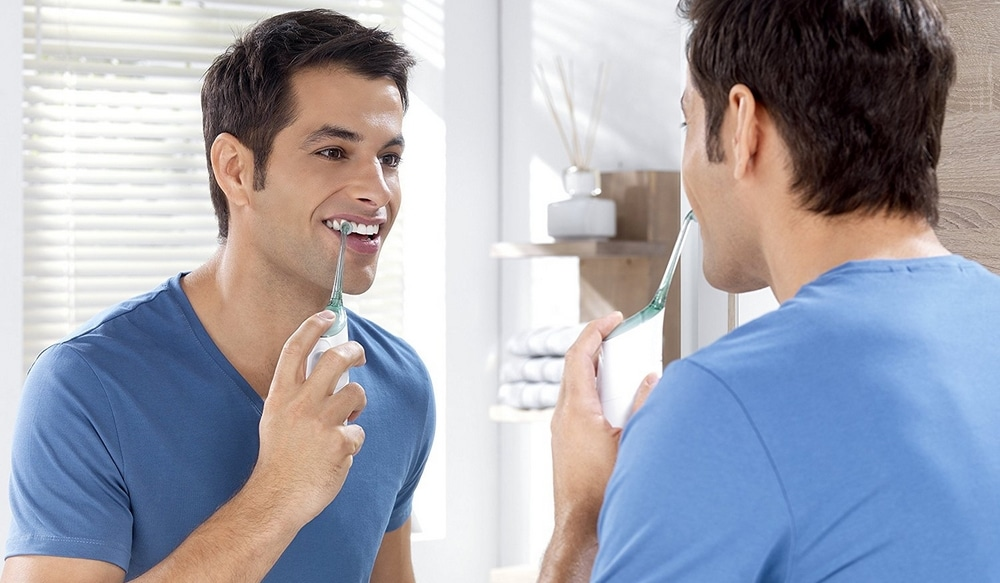 Jet dentaire hydropulseur modes de fonctionnement