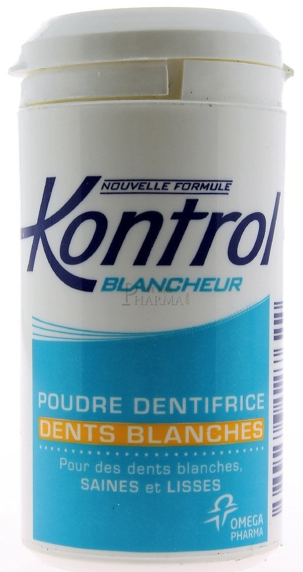 Dentifrice Kontrol en poudre