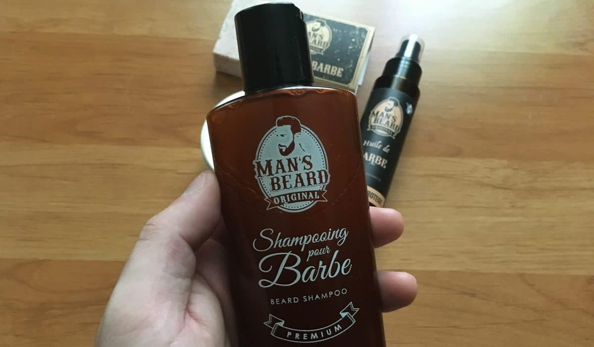 Shampooing pour barbe Man's Beard