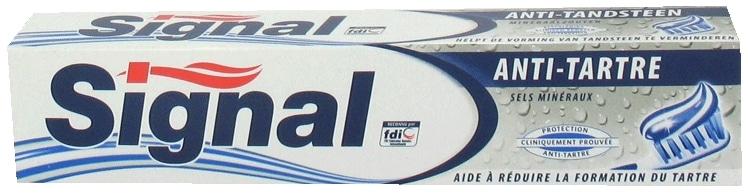 Dentifrice Signal Anti Tartre