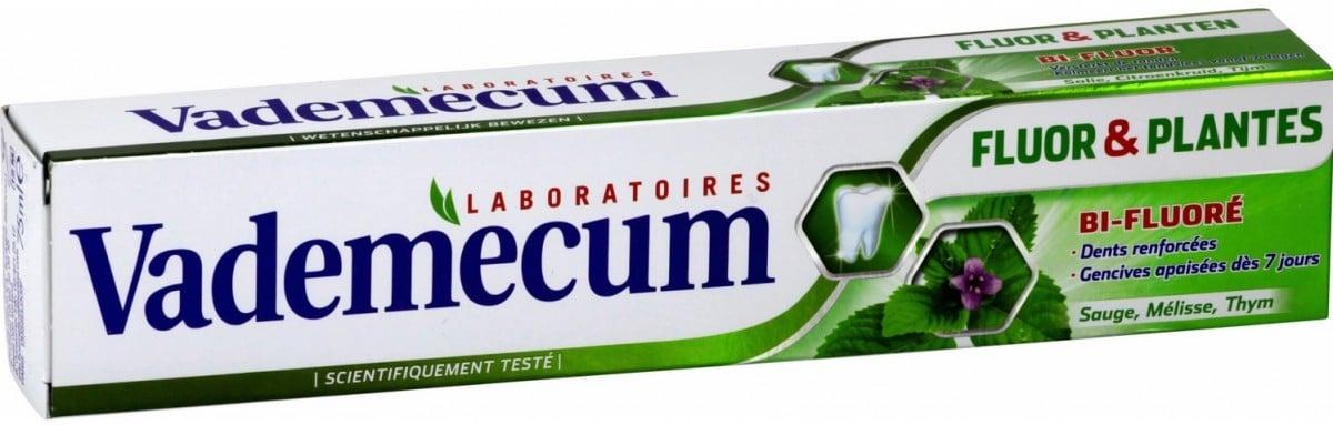 Dentifrice Vademecum Fluor et Plantes