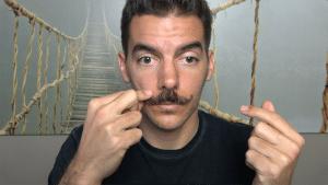 etape 5 - appliquer la cire - cire a moustache maison