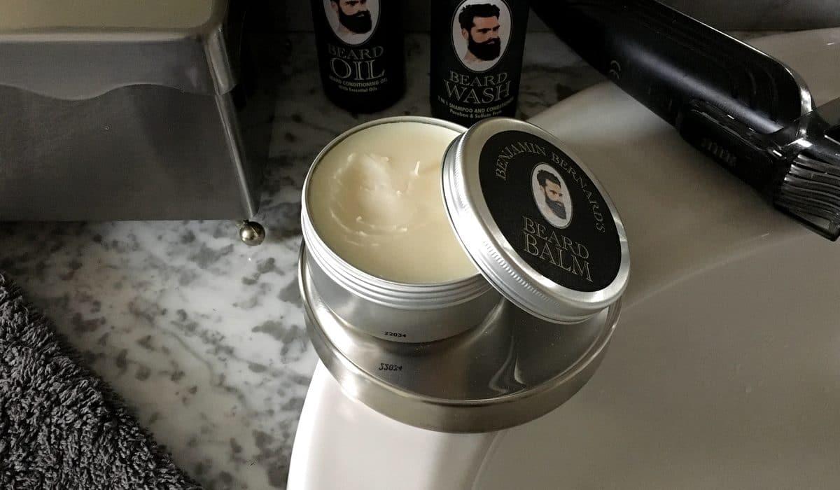 Test et avis baume à barbe Benjamin Bernard