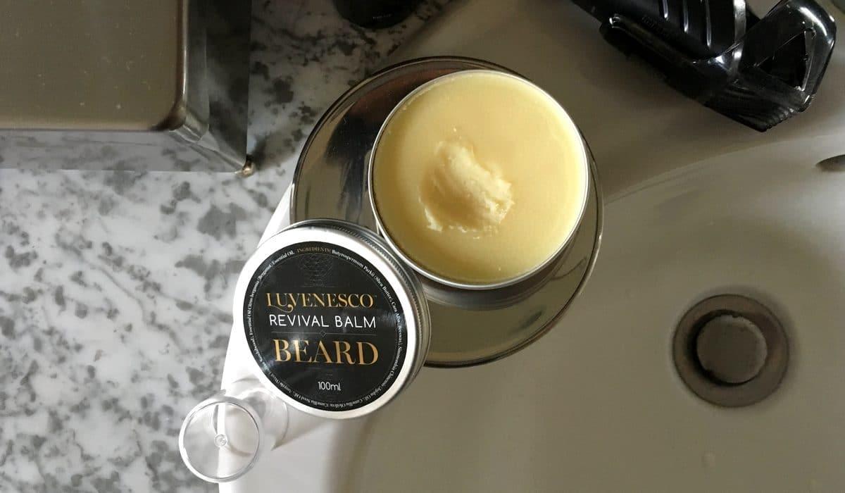 Test et avis baume à barbe Luvenesco