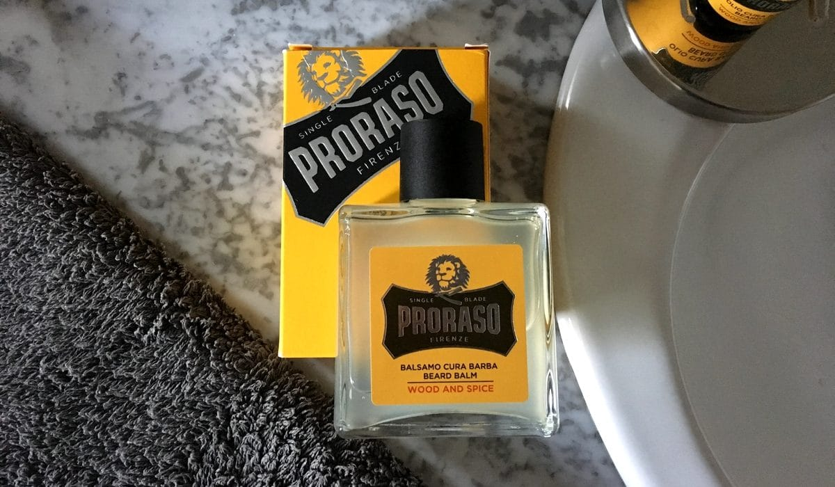 Test et avis baume à barbe Proraso