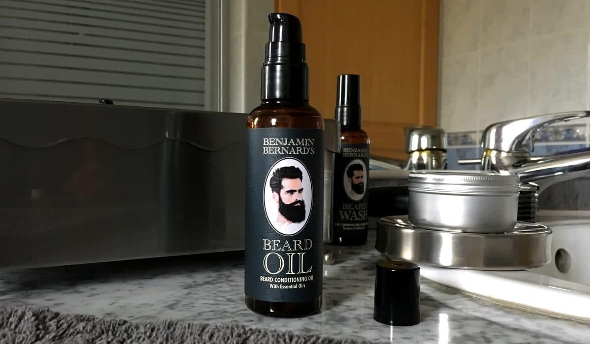 Test et avis huile à barbe Benjamin Bernard