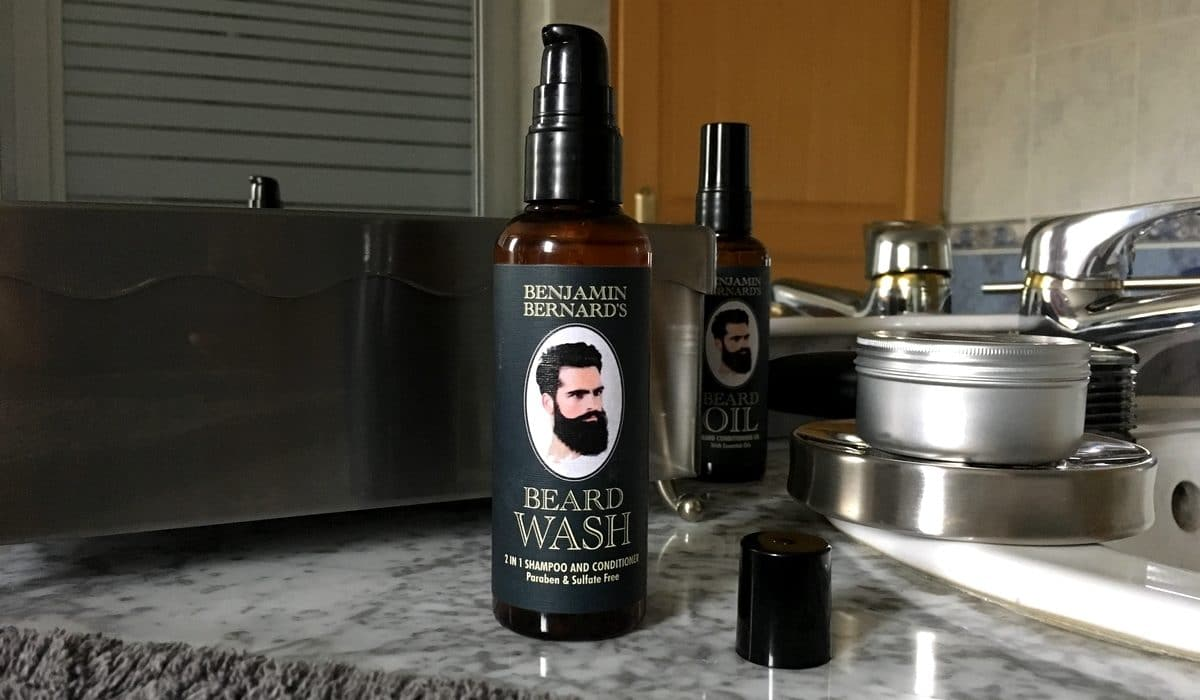 Test et avis shampoing pour barbe Benjamin Bernard