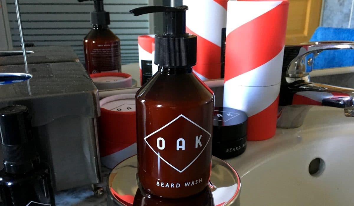 Test et avis shampoing pour barbe OAK Natural Beard Care